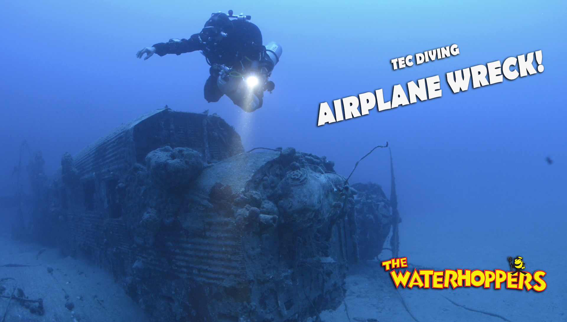 Airplane Wreck on Rhodes for Tec Dive