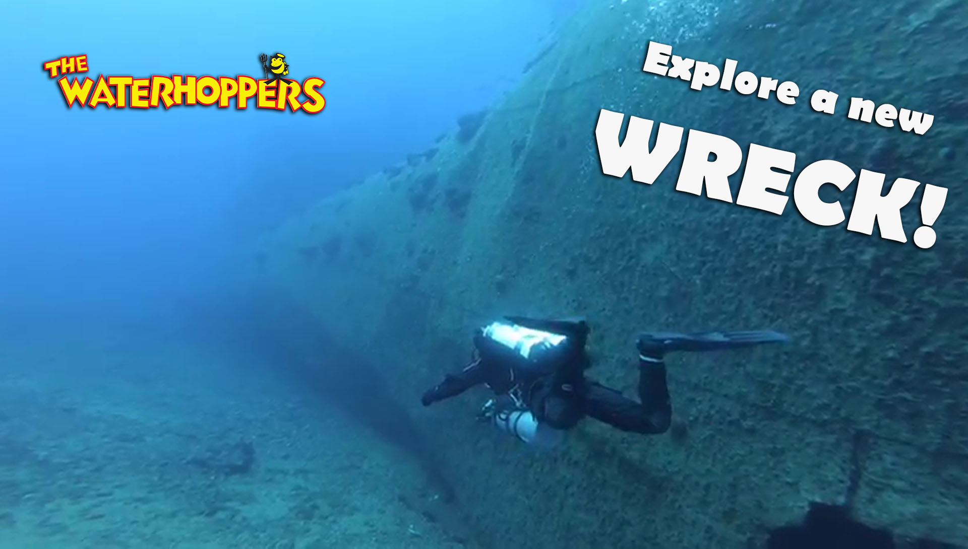 Video of New Wreck dive site