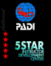 Padi Five Star Diving Centre logo